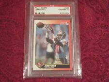 Jerry Rice  1991  Score #380 PSA   Gem Mint 10