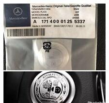mercedes benz AMG 37mm Sticker Start Button Keyless-go Comfort Access C63