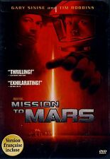 NEW DVD // MISSION TO MARS // Gary Sinise, Tim Robbins, Don Cheadle, Connie Niel