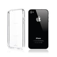 100 trasparente Custodia Case Cover per Apple iPhone 4 4s TPU