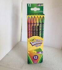 Crayola® Twistables Erasable Colored Pencils, 12 Assorted Colors/ 071662027582