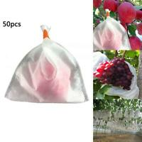 50 Garden Fruit Vegetable Protection Exclusion Mesh Net Bag Against Pest &Bird A