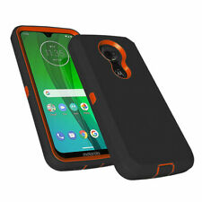 For Motorola Moto G7 Power Plus Play Fits Otterbox Clip Case +Tempered Glass