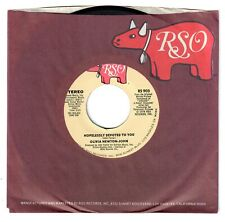 Olivia Newton-John 1978 RSO 45rpm Hopelessly Devoted To You  NM+