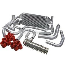 Dual Core Twin Turbo Intercooler Kit For 90-01 Mit. 3000GT GTO Dodge Stealth