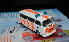 DeAgostini 1:43 Volkswagen Transporter T2 serie Police cars of the world