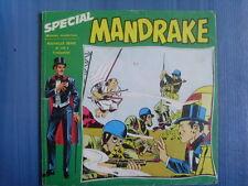 trimestriel Spécial MANDRAKE numéro 1 ( mondes mystérieux nouvelle série) 1973