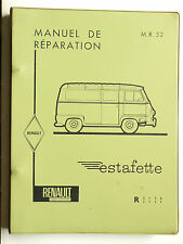 Manuel de Réparation  RENAULT ESTAFETTE  1959     catalogue   R 2130    R 2131