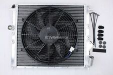 Radiateur ALU Clio Williams 16S 16V R19 RSI Renault + Ventilateur plat 160W