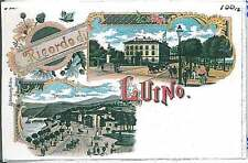 CARTOLINA d'Epoca - VARESE :  GRUSS AUS LUINO