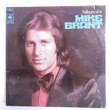 33T Mike BRANT Disque Vinyle LP ALBUM OR - C'EST MA PRIERE -QUI SAURA -CBS 65377