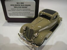 1/43 BROOKLIN BC 02 BUICK 96 S COUPE 1934 BELLEVUE BEIGE