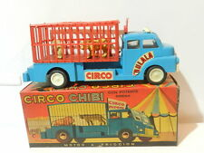 VINTAGE TOY FRICTION TRUCK CIRCUS PLASTIC WORKS MINT IN BOX 1960'S BRAND CHIBI