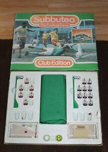 SUBBUTEO CLUB EDITION FOOTBALL SET -BOXED-