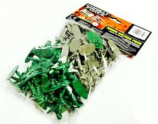 Pack Of PLASTIC SOLDIERS CLASSIC BOYS TOY ARMY MEN COMBAT FORCE WAR GAME