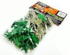 Pack De Plástico soldados Clásico Niños Juguete Soldaditos De Combate Fuerza Juego De Guerra