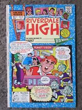 "ARCHIES SERIES ""RIVERDALE HIGH"" NO.3 DEC. 1990  VF 8.0 OUT OF PRINT"