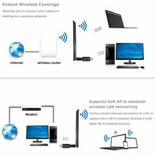 Dual Band 802.11ac 1200Mbps W/Antenna Wireless USB Wifi Adapter Dongle 2.4G/5GHz