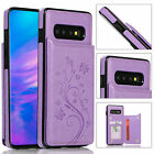 Fr Samsung Galaxy S10e S10 Plus S9 S8 S7e Luxury Leather Card Wallet Case Cover