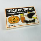 Vintage 1984 Halloween Trick or Treat Cookie Metal Cutters 4 Cutters w/ Box