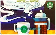STARBUCKS 2017 COFFEE SIREN BLIND AWARENESS BRAILLE FR/ENG COLLECTIBLE GIFT CARD