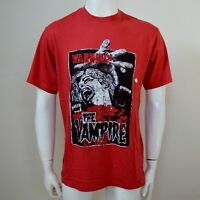 THE KOOPLES Men's Red The Vampire Graphic T-Shirt Tee Size M MEDIUM £96