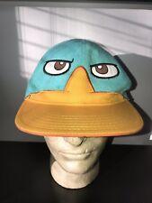 Disney Phineas & Ferb Baseball Cap Trucker Hat SNAPBACK Where's Perry?