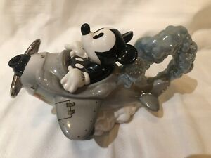 RARE DISNEY SHOWCASE CARDEW NOVELTY COLLECTABLE AVIATOR MICKEY GREAT CONDTION