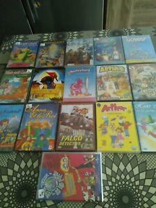 LOT 16  DVD NEUFS sous blister PAS DE DOUBLES pour enfants, dessins animés....