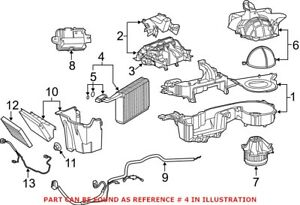 Genuine OEM A/C Evaporator Core for Dodge 68110611AA