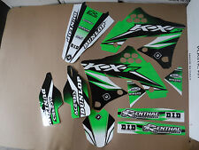 FLU  DESIGNS PTS3 TEAM  KAWASAKI GRAPHICS  KX250F 2009 2010 2011 2012
