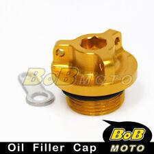 Gold Billet CNC Oil Filler Cap Suzuki GSXR 1000 2001-2009 2010 2011 2013