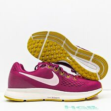 Nike Air Zoom Pegasus 34 Women's Running Training Gym Pink Purple 880560-607 NIB