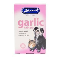 Johnson's Vet Garlic Tablets for Cats & Dogs 40 Tablets