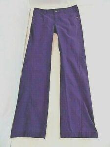 Athleta Women's Jean-look sport Nylon Stretch Pants Sz 6 Drawstring Waistband