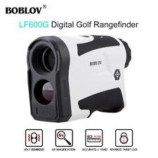LF600G 6x 650Yards Golf Laser Rangefinder Monocular With Flag Lock USB Charging