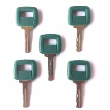 (5) Volvo Loader and Haul Truck Heavy Equipment Laser Cut Ignition Keys 11039228