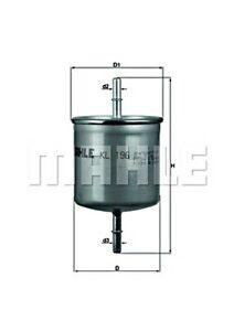 MAHLE Fuel Filter For VOLVO S40 I S60 II S80 V40 V70 III Xc70 Xc90 30620512