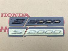 Honda S2000 Schriftzug Kotflügel vorne lin+rechts Emblem Typenschild in Schwarz