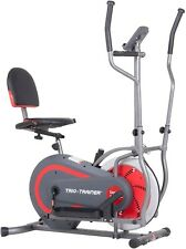 3 in 1 Elliptical / Recumbent & Upright Machine- Delivered apx July 17-18th