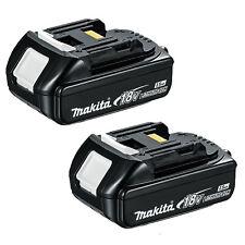 Makita 18V Slide Li-Ion 1.5Ah Cordless battery x 2 - BL1815