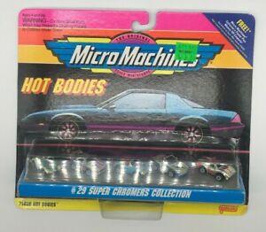 Micro Machines Galoob Ferrari's Hot Bodies #29 Super Chromers Collection MIC2