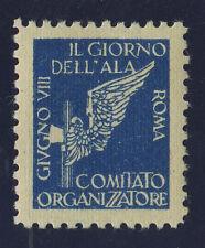 § IL GIORNO DELL'ALA 1930 - CHIUDILETTERA DEL COMITATO ORGANIZZATORE