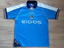 MANCHESTER CITY! 1999-01! shirt trikot camiseta maglia jersey! 5/6 ! M - adult@