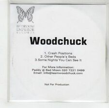 (GJ354) Woodchuck, Crash Positions - DJ CD