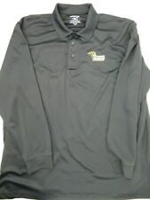 Lindenwood Paramedicine Black 3 Button Polo Shirt Men's Size 2XL