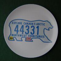 Canada Bear Licence Plate - Plastic Plate - America Souvenir - Arctic Northwest