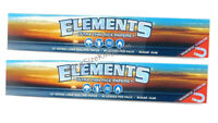 ELEMENTS 12 Inch Large Huge Rolling Papers Ultra Thin Rice Paper (2 Packs)