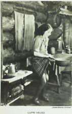 1930's RPPC Lupe Velez Movie Star Dutch Real Photo Postcard P107