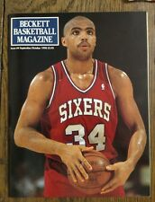 Issue #4 Beckett Basketball Magazine Sept/Oct 1990 Charles Barkley